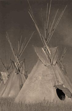 Native American Tipi As It Once Was...