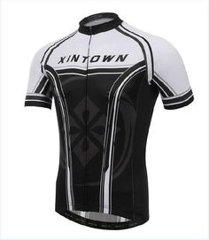 XINTOWN Men s Short Sleeve Spring Summer Fall Cycling Jersey  S-3XL  9137972a4