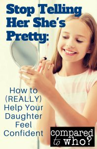 Great piece to help daughter with body image. New perspective that will challenge you!