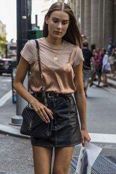 leather skirt elle