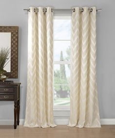 Look what I found on #zulily! Behrakis Zigzag Curtain Panel - Set of Two by Duck River Textile #zulilyfinds
