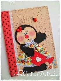 Art's da Belinha: {Caderninhos... ♥}