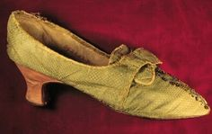 It's About Time: Delightful Distractions - A Few Fairly Fine Antique Shoes & Purses