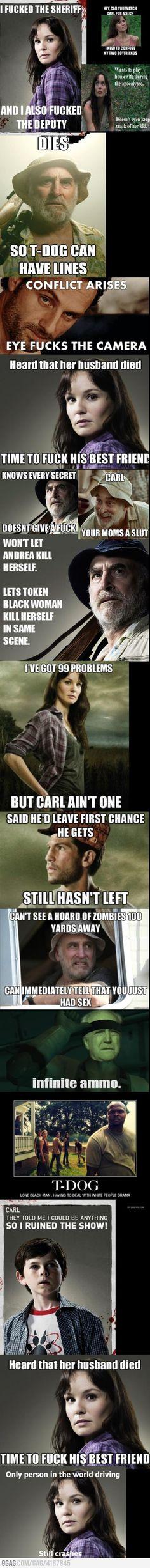 The Walking Dead... LOL!!!