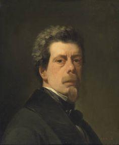 """Antonio María Esquivel y Suárez de Urbina, """"Autorretrato"""", ca. 1856, óleo sobre lienzo, 55 x 44 cm"""