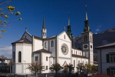 Glarus Stadtkirche - Stadtkirche Glarus – Wikipedia Mansions, House Styles, Google, Home Decor, Decoration Home, Room Decor, Fancy Houses, Mansion, Manor Houses