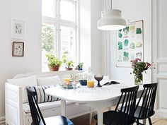 my scandinavian home: A cute Swedish family apartment