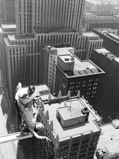 Gotta love this shot by LIFE's John Dominis a tamale performer skips rope above Chicago 1955