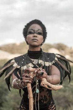 Afrofuturism and Interrupted Black Diaspora Identity Larp, Beltaine, Cosplay, Conquest Of Mythodea, Inka, Warrior Princess, Halloween Kostüm, Afro Art, Barbarian