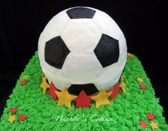 Confections, Cakes & Creations!: Soccer Ball Cake