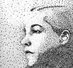 12 Kunst in Punktformat-Ideen | kunstwerke, leinwand, malen