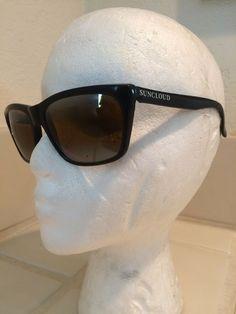 a5c5092305 SUNCLOUD Vintage Sunglasses France Depose Aviator Polished Black French  Frames  affilink  vintagesunglasses  vintage