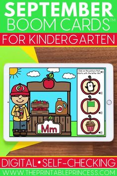 Whether from at home distance learning or in school technology centers, help your students practice a variety of Kindergarten math and literacy skills while having fun! This bundle includes 8 FULL Boom decks, all with a fun fall apple theme that's perfect for back to school this September. Students will practice letter sorting and matching, beginning sounds, counting, subitizing and more! Subitizing Activities, Number Recognition Activities, Kindergarten Math Activities, Word Work Activities, Counting Activities, Literacy Skills, Alphabet Activities, Kindergarten Classroom, Teaching Numbers