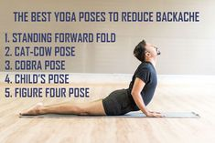 5 #Yoga Poses To Reduce #Backache (Videos) | Good Relaxation