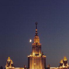 Метро Воробьевы горы (metro Vorobyovy Gory) (Москва)
