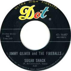 Sugar Shack - Jimmy Gilmer and The Fireballs Make Mine Music, I Love Music, Kinds Of Music, Good Music, Old Records, Vinyl Records, Songs To Sing, Music Songs, 70s Music