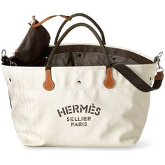 Fourre Tout du Cavalier bag ($2,475) ❤ liked on Polyvore