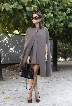 I love a good cape.