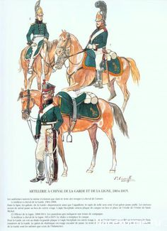 Russian Horse Artillery of the Line, 1804 - 1815