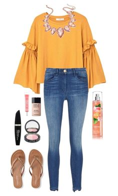 """""""Spring"""" by jjjunebug2 on Polyvore featuring MANGO, Thalia Sodi, 3x1, Aéropostale, Max Factor and MAKE UP FOR EVER"""