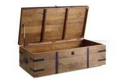 Swoon Editions Antique style trunk: The quirky Maya, just £299