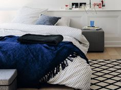 Plaid, boutis, bedspread ... how to dress your bed linen?