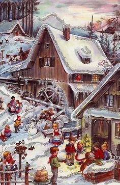 Christmas advent calendar ~ Germany