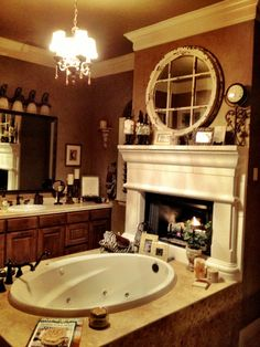 Pinterest & 148 Best Bathroom Fireplaces images in 2019 | Bathtub Future house ...