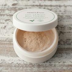Innisfree No Sebum Blur Powder 5g RM55  #innisfree #naturalbeautykshop #nosebumblurpowder #poreblureffectpowder