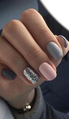 Minimalist nail art for You to make yourself look elegant and fashionable - Nail. - Minimalist nail art for You to make yourself look elegant and fashionable – Nails # - Classy Nails, Stylish Nails, Trendy Nails, Elegant Nails, Nail Polish, Nail Nail, Top Nail, Minimalist Nails, Minimalist Artwork