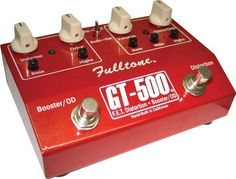 Fulltone GT-500 Distortion and Overdrive Booster by Fulltone. $169.15