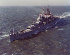 USS Canberra CAG-2 light missile cruiser.