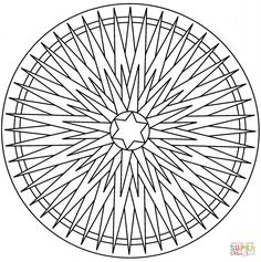 coloring page Mandala Christmas on Kids-n-Fun. Coloring pages of Mandala Christmas on Kids-n-Fun. More than coloring pages. At Kids-n-Fun you will always find the nicest coloring pages first! Pattern Coloring Pages, Cool Coloring Pages, Mandala Coloring Pages, Christmas Coloring Pages, Printable Coloring Pages, Adult Coloring Pages, Coloring Sheets, Coloring Books, Christmas Mandala