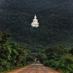 Buddha Statue in Forest Pak Chong / thailand