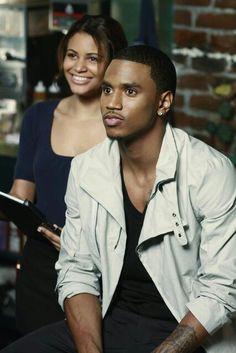 Trey...u look so fascinated...must be looking at me