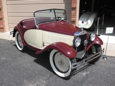 bantam automobile | Images of 1933 American Austin Bantam