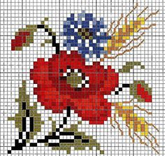 Maria Gomes: Gráficos de Ponto Cruz Cross Stitch Fruit, Mini Cross Stitch, Cross Stitch Heart, Beaded Cross Stitch, Cross Stitch Flowers, Cross Stitch Embroidery, Embroidery Patterns, Monogram Cross Stitch, Embroidery Monogram