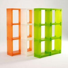 Smart Fixtures Cubitec Modular Plastic Shelves In Lime Green Plastic Shelves Shipping Crates