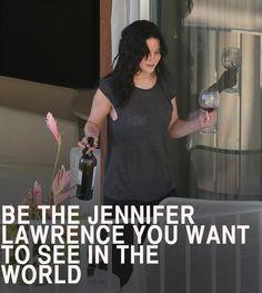 Jennifer Lawrence. Love her.