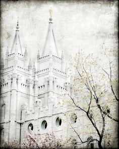LDS temple artwork