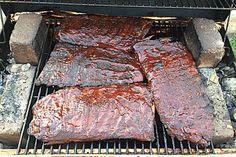 Triple BBQ Smoker Grill Concession Trailer for Sale in Georgia! Barbecue Smoker, Grilling, Bbq Spare Ribs, Ribs Seasoning, Water Smoker, Rib Rub, Spareribs, Camping Bbq, Kebab