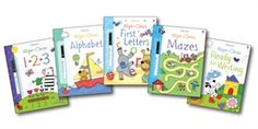Usborne Books & More. Wipe Clean Complete Collection (5)