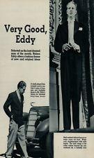 NELSON EDDY TWO VERY RARE 1935 MAGAZINE PHOTOS
