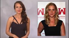 Tina Fey and Amy Schumer a Madonna Like Kiss
