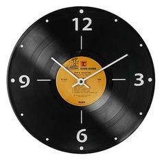 RECORD CLOCK on Chiq  $38.00 http://www.chiq.com/record-clock