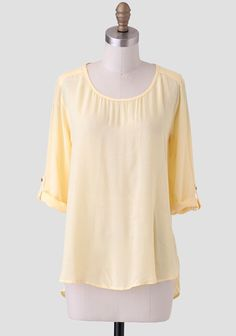 Bright Star High-Low Blouse