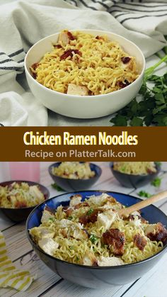 Chicken Ramen Noodles recipe is a fortified home fast food transformed into a ge. - Chicken Ramen Noodles recipe is a fortified home fast food transformed into a genuine family meal, - Top Ramen Recipes, Asian Noodle Recipes, Soup Recipes, Recipies, Chicken Ramen Recipe, Easy Chicken Recipes, Chicken Noodles, Recipes With Chicken Ramen Noodles, Home Made Ramen Noodles