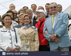(front Rowl L-r) 2007 Queen Sonja Of Norway, Grand Duchess Maria Teresa Of Stock Photo, Royalty Free Image: 58397170 - Alamy