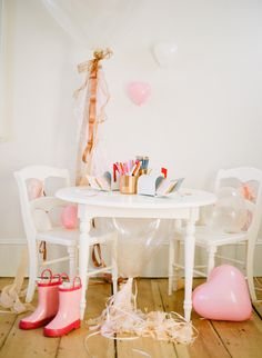 A Valentine-Making Party for Kids