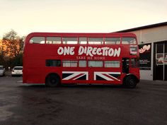 One Direction Take Me Home Bus